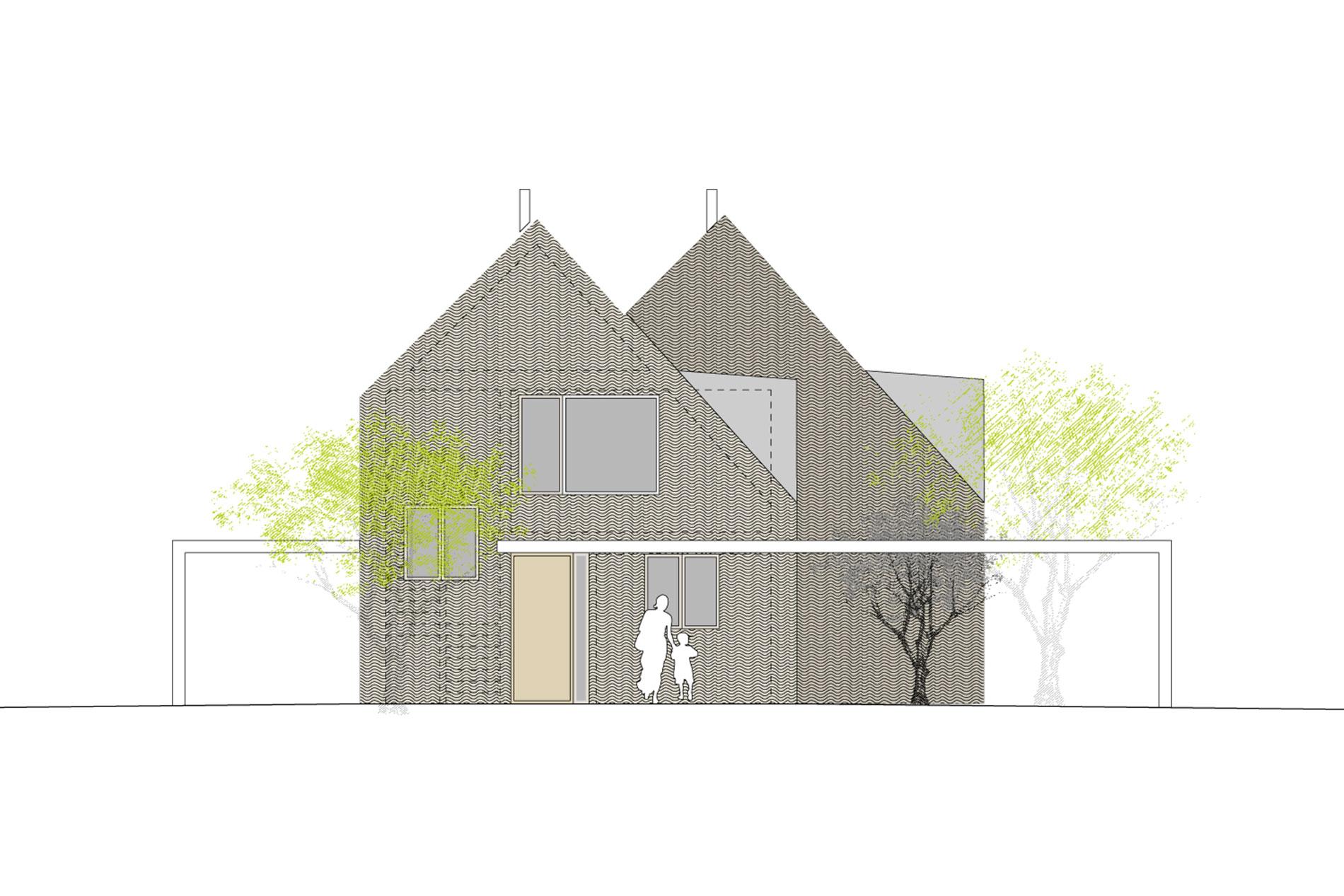 Architekt München Einfamilienhaus einfamilienhaus münchen 06 autharistr wollmann architekten